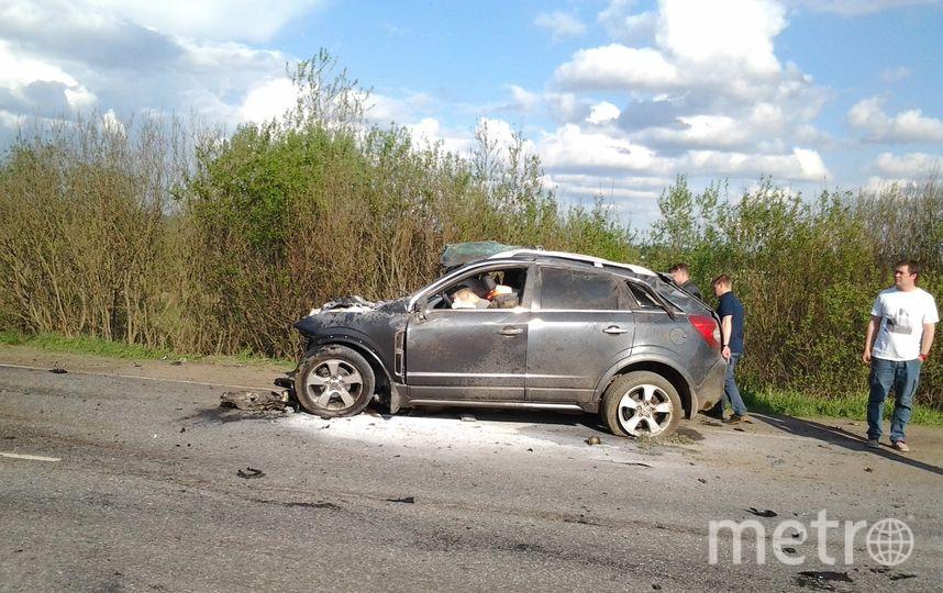 Фото с места смертельной аварии. Фото https://megapolisonline.ru