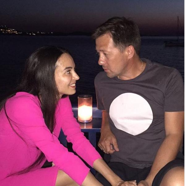 Диана Вишнева с мужем. Фото https://www.instagram.com/dianavishneva/