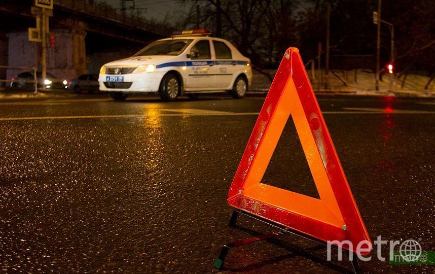 Водитель внедорожника насмерть сбил женщину на пешеходном переходе в Москве и скрылся. Фото Василий Кузьмичёнок