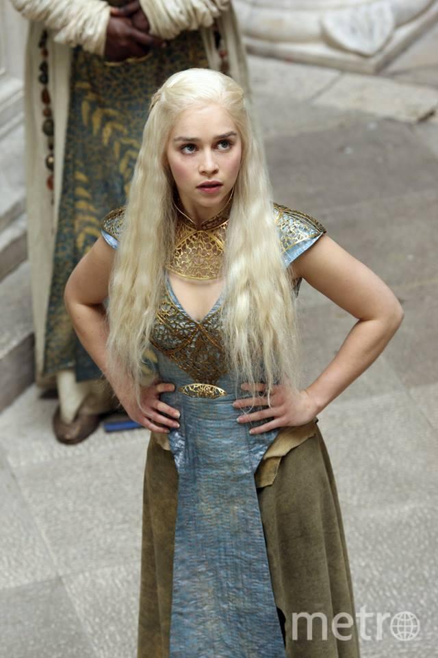"""Из """"Игры престолов"""" – Дейнерис в очередном шикарном наряде. Фото HBO"""
