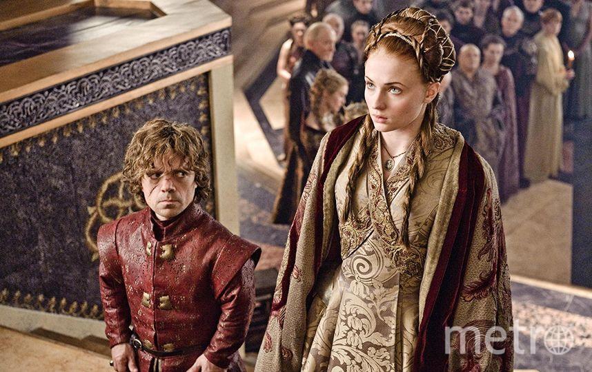 """Из """"Игры престолов"""" –Тириорн Ланнистер и Санса Старк. Фото HBO"""