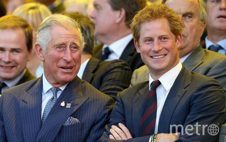 Принц Чарльз и принц Гарри. Фото Getty