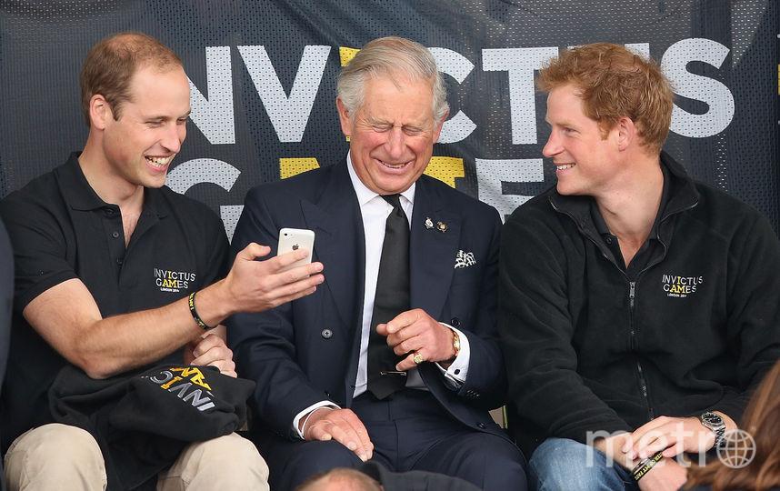 Принц Чарльз с сыновьями. Фото Getty