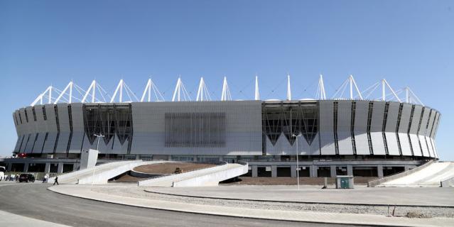 Стадион в Ростове.