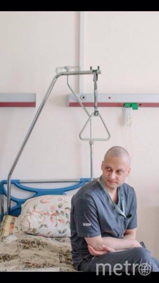 Андрей Павленко после химиотерапии. Фото из личного архива героя публикации