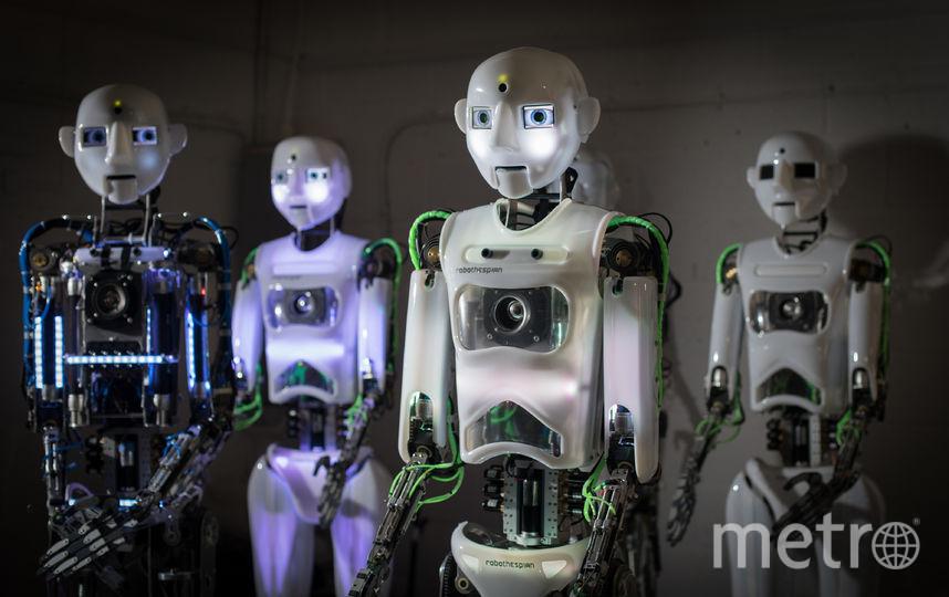 Робот, разработанный российской телекоммуникационной компанией, соревновался с человеком в компетенции, отвечая на вопросы юридической тематики. Фото Getty