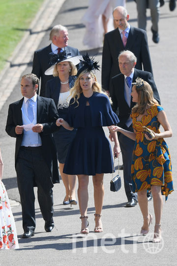 Челси Дейви на свадьбе принца Гарри и Меган Маркл. Фото Getty