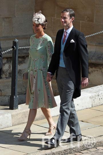 Семья Миддлтон замечена среди гостей свадьбы принца Гарри и Меган Маркл. Фото Getty