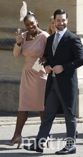 Серена Уильямс с супругом. Фото Getty