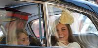 Кейт Миддлтон появилась на свадьбе принца Гарри и Меган Маркл после третьих родов