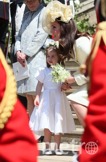 Кейт Миддлтон и ее дочь Шарлотта. Фото Getty