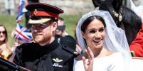 Принц Гарри и Меган Маркл впервые вышли на публику как муж и жена: Фото
