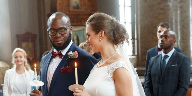 Свадьба Анны и Эдриана.