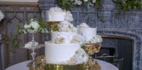 Королевский стол: Торт и другие блюда на свадьбе принца Гарри и Меган Маркл