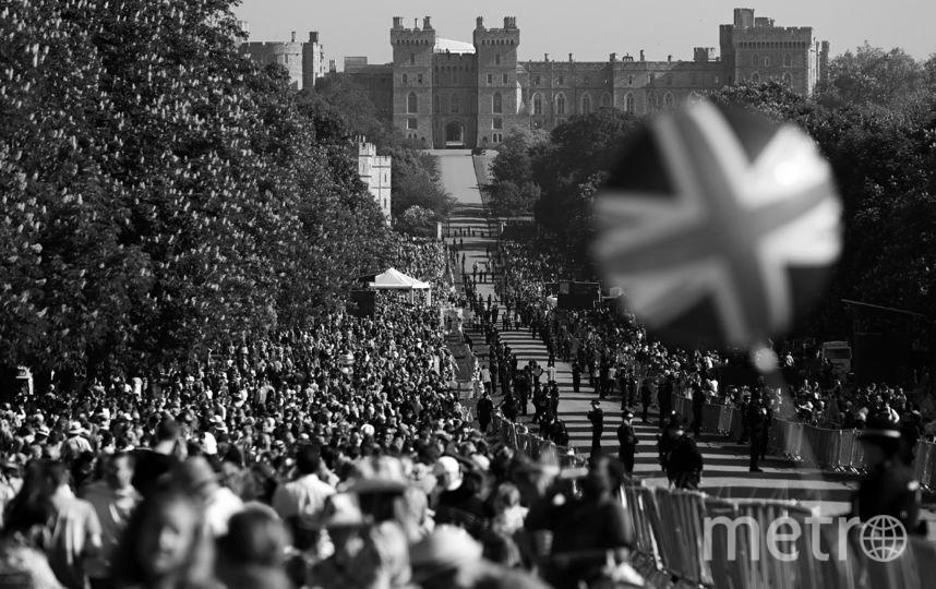 Британцы радуются свадьбе принца. Фото AFP