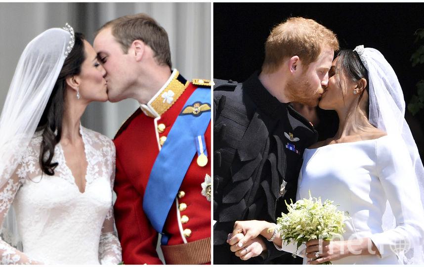 Свадьбы Миддлтон и Маркл. Фото AFP
