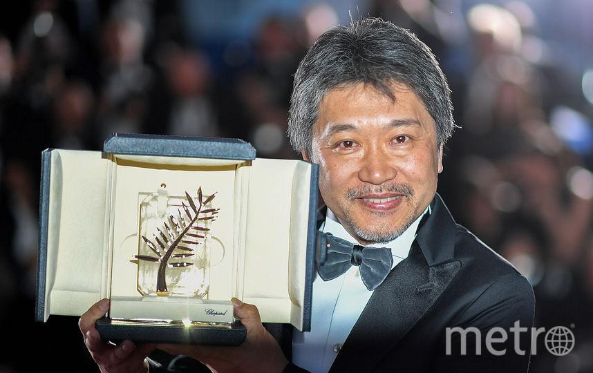 Главный приз Каннского фестиваля получил японский режиссер Хирокадзу Коре-Эда. Фото AFP
