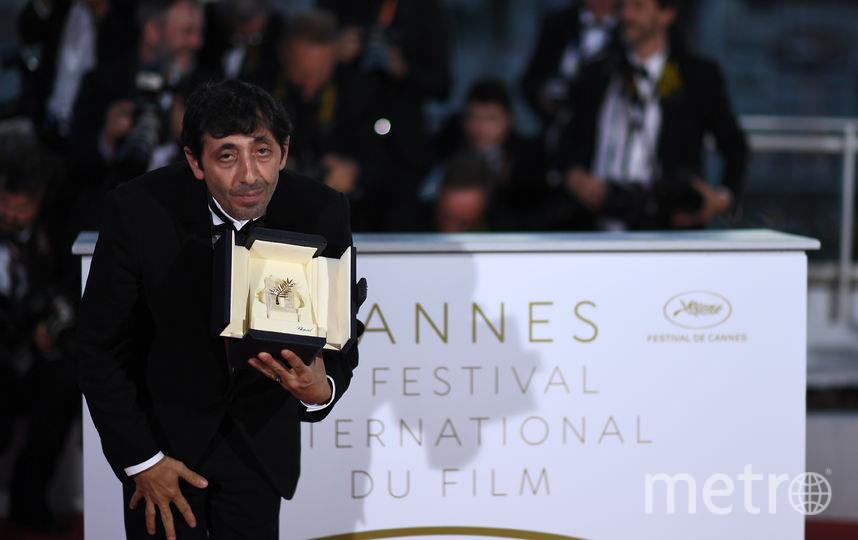 """Итальянский актер Марчелло Фонте получил награду за лучшую мужскую роль. В криминальной драме Маттео Гарроне """"Догмэн"""" Фонте сыграл скромного владельца собачьей парикмахерской, приторговывающего наркотиками. Фото AFP"""