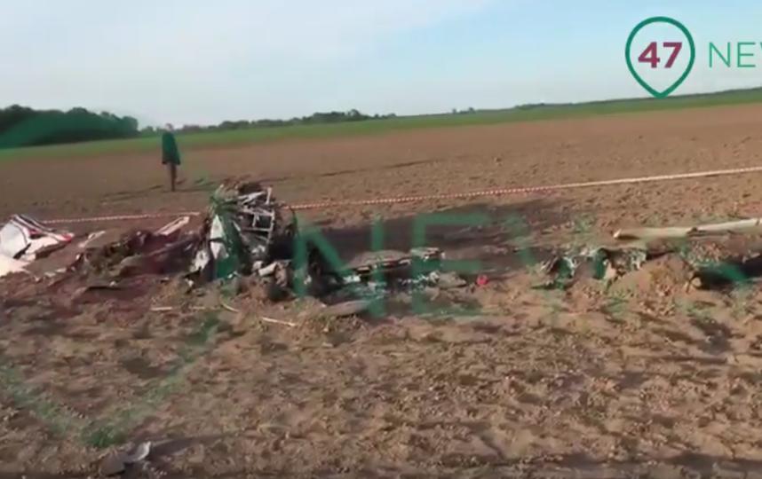 В Ленобласти при жесткой посадке двухместного Су-29 погиб человек. Фото Все - скриншот YouTube