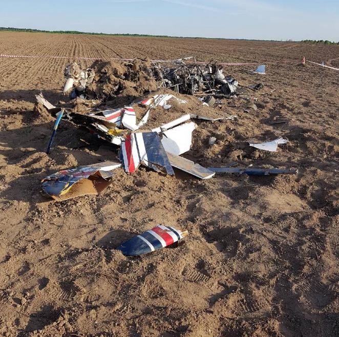 В Ленобласти при жесткой посадке двухместного Су-29 погиб человек. Фото www.szsut.sledcom.ru/