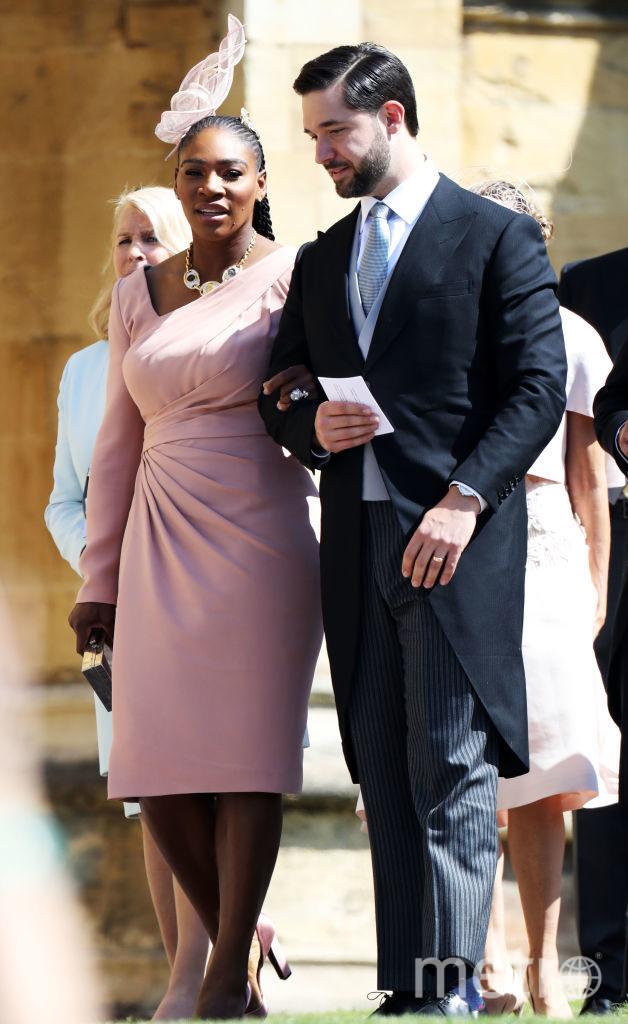 Серена Уильямс на свадьбе принца Гарри и Меган Маркл, фотоархив. Фото Getty