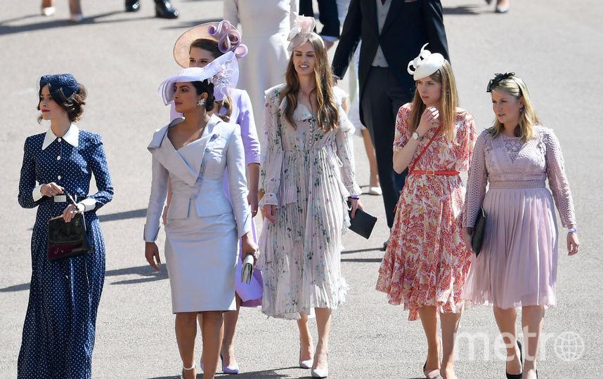 Приянка Чопра на свадьбе принца Гарри и Меган Маркл, фотоархив. Фото Getty
