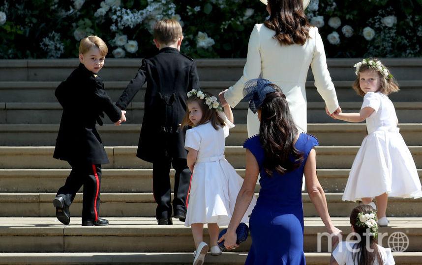 Джессика Малруни на свадьбе принца Гарри и Меган Маркл, фотоархив. Фото Getty
