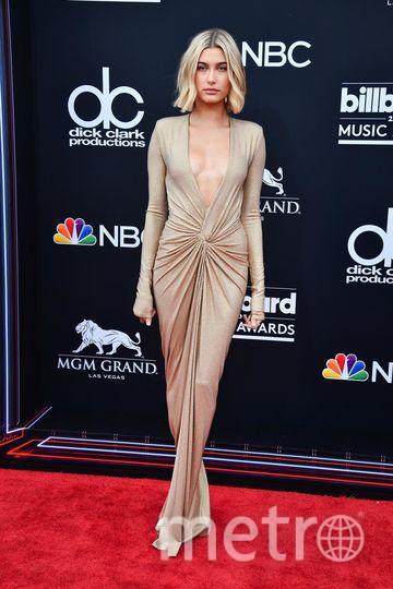 Billboard Music Awards-2018. Хейли Болдуин. Фото Getty