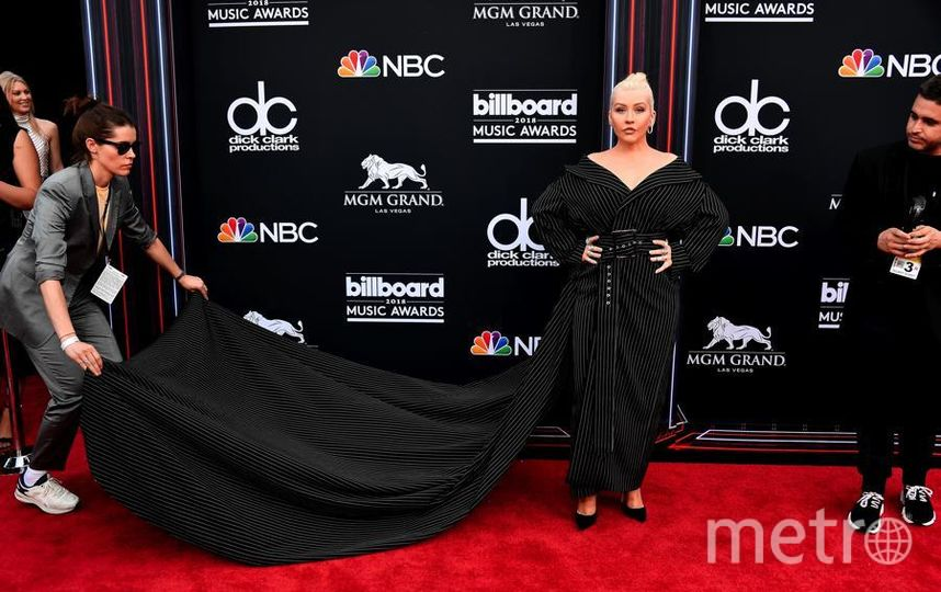 Billboard Music Awards-2018. Кристина Агилера. Фото Getty
