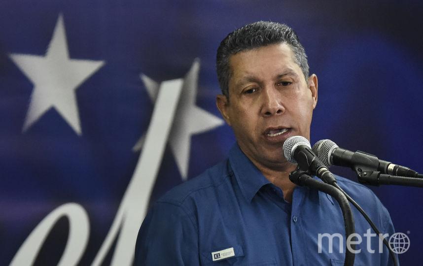 Лидер оппозиции Энри Фалькон. Фото AFP