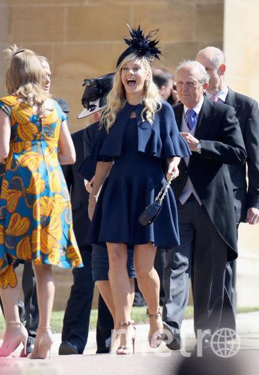 Челси Дэви на свадьбе принца Гарри. Фото Getty