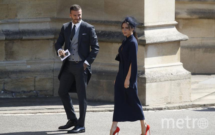 Дэвид и Виктория Бекхэм. Фото AFP