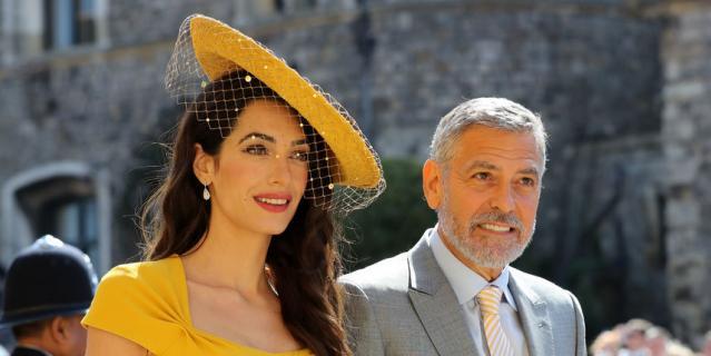 Амаль и Джордж Клуни.