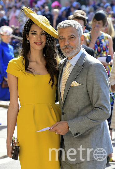 Амаль и Джордж Клуни. Фото AFP