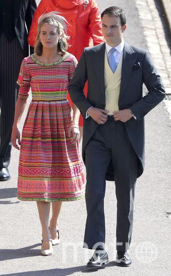Бывшая девушка принца Гарри, актриса Крессида Бонас. Фото AFP