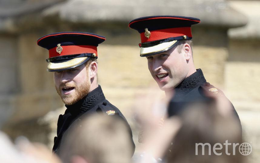 Принц Гарри и принц Уильям. Фото AFP