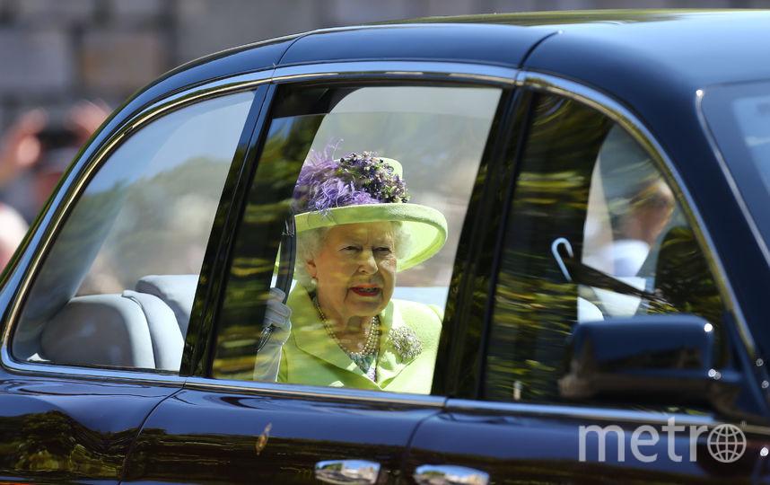 Королева Елизавета II на свадьбе у принца Гарри и Меган Маркл. Фото Getty