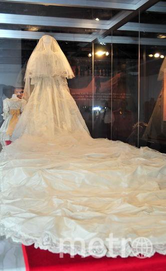 Свадебное платье принцессы Дианы. Фото Getty