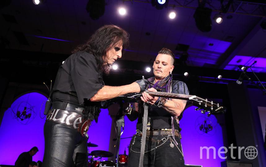 Джонни Депп предстанет перед петербуржцами как музыкант.