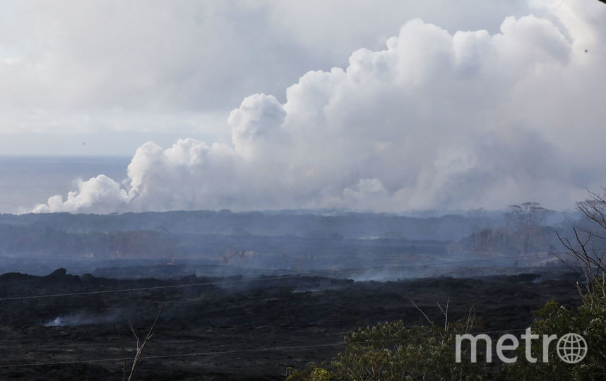 Вулкан проявляет повышенную активность с начала мая. Фото AFP