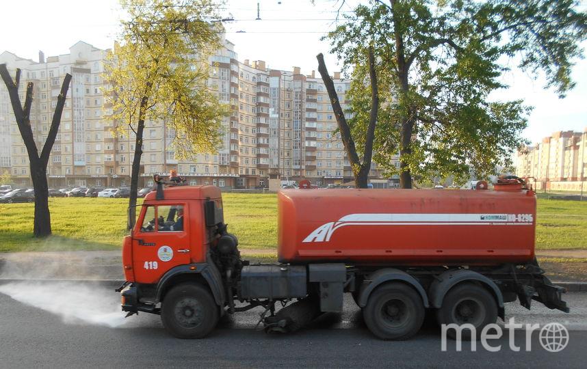 С улиц Петербурга за неделю вывезли 500 тонн мусора. Фото www.gov.spb.ru