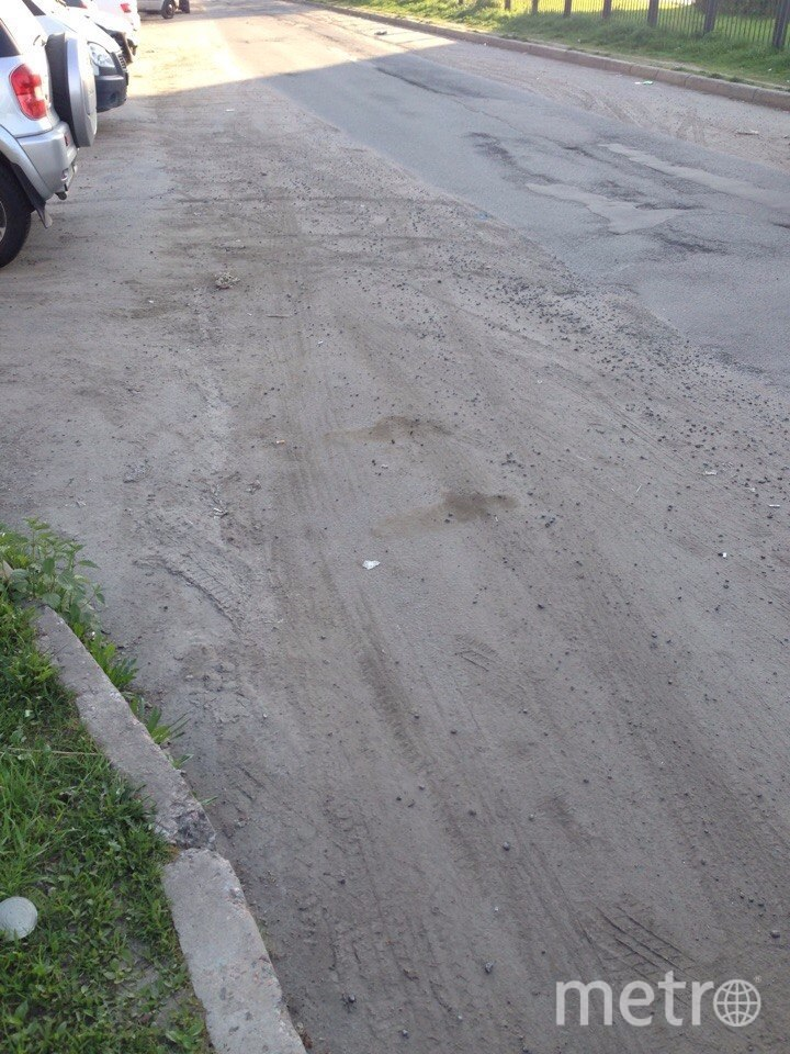 Жители Купчино засняли на фото грязь на улицах района. Фото Красивый Петербург