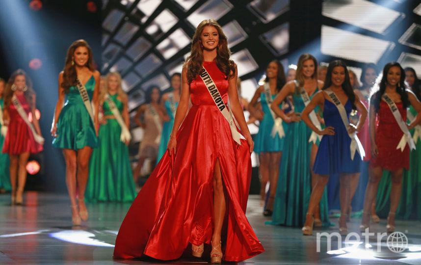 "Финал ""Мисс США-2018"". Madison Nipe. Фото Getty"