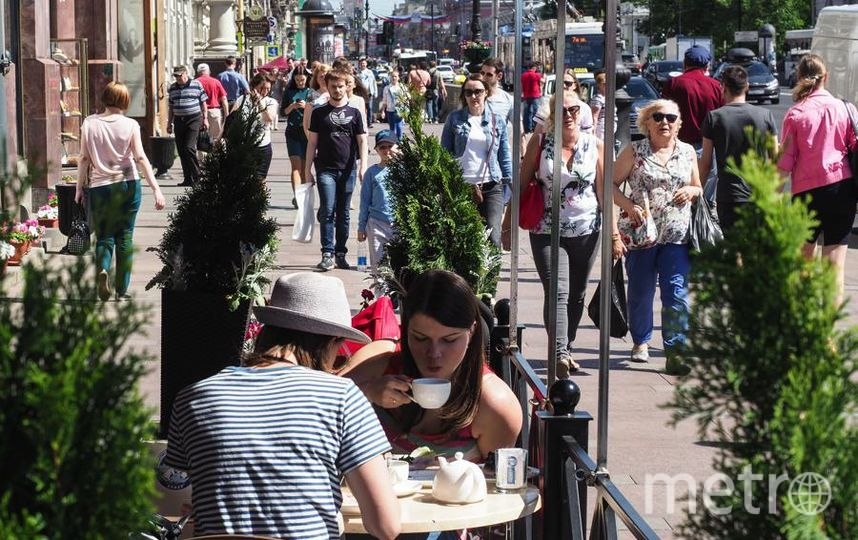 """Согласованные с властями города летние террасы кафе никто не тронет. Фото Святослав Акимов, """"Metro"""""""