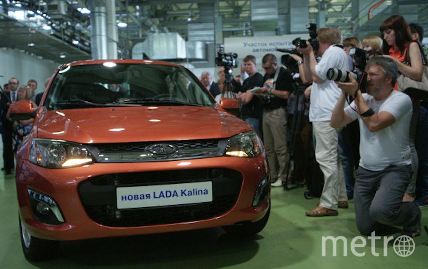 Lada Kalina. Фото РИА Новости