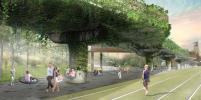 Монорельс в Москве предложили превратить в парящий сад