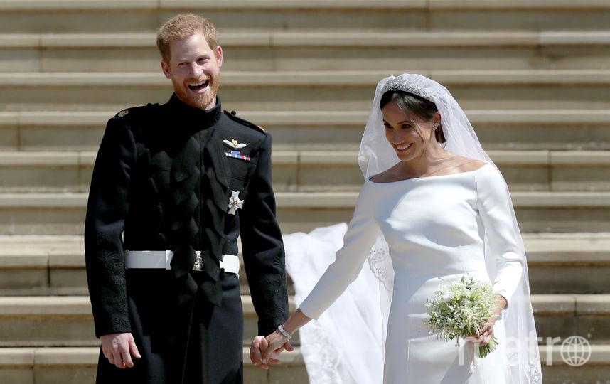 Свадьба принца Гарри и Меган Маркл. Фото Getty