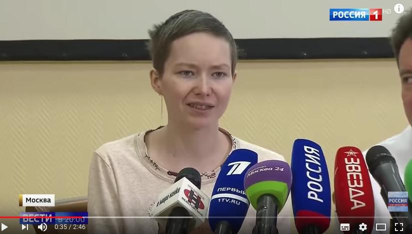 Дарья Старикова. Фото скриншот https://www.youtube.com/watch?v=K_XS1oXR010