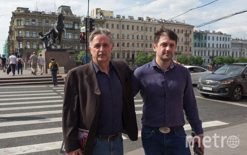 """Расула Абакарова пво всем поддерживает отец Мухтар Абакаров, бывший канатоходец. Фото Святослав Акимов, """"Metro"""""""