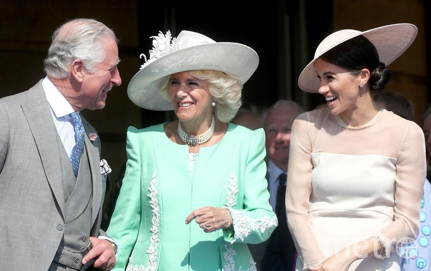 Вечеринка в саду Букингемского дворца. Фото Getty